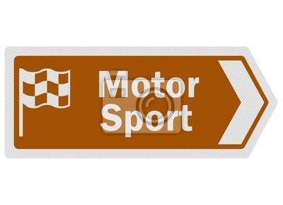 """Informations touristiques série: photo-réaliste """"sport automobile"""" signe o"""