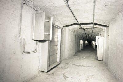 Papiers peints Intérieur industriel de vantilation système tunnel