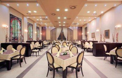 Papiers peints Intérieur moderne de restaurant de l'hôtel
