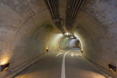 Papiers peints Intérieur, urbain, tunnel, montagne, sans, trafic