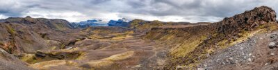 Papiers peints Islande Landmannalaugar trek paysage sauvage
