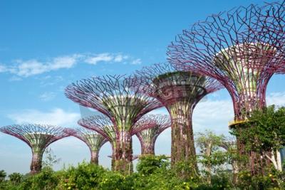 Papiers peints Jardins de la baie, Singapour