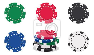 Papiers peints jetons de casino