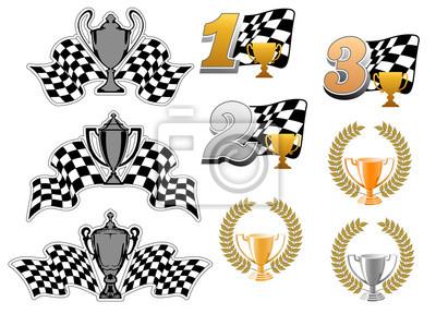Jeu de sport automobile et les courses icônes