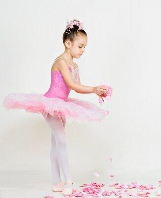 Papiers peints jeune ballerine