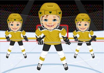 Papiers peints Jeune, hockey, équipe, uniforme