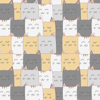 Papiers peints Joli chat adorable chaton fond d'écran sans soudure