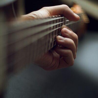 Papiers peints Jouer de la guitare électrique