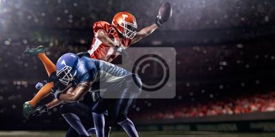 Papiers peints Joueur de football américain dans l'action au moment de jeu