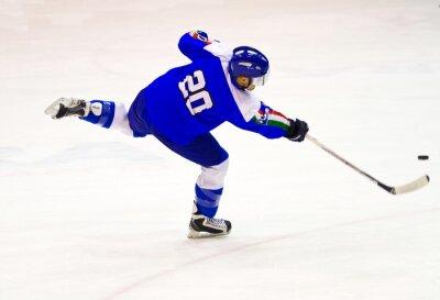 Papiers peints joueur de hockey sur glace