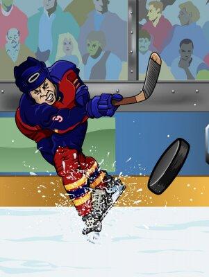 Papiers peints Joueur de hockey sur glace de la Floride.