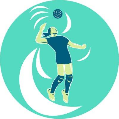 Papiers peints Joueur de volley-ball