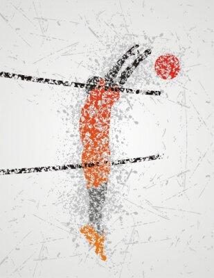 Papiers peints joueur de volleyball