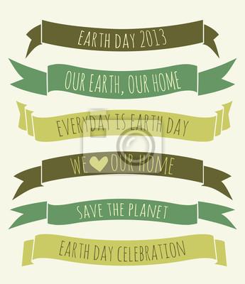Jour de la Terre Bannières Collection
