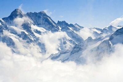 Papiers peints Jungfraujoch Alpes paysage de montagne