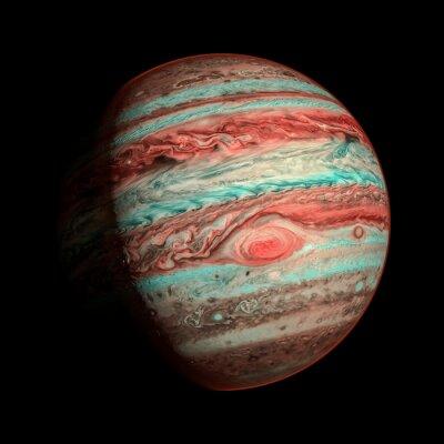 Papiers peints Jupiter planète isolée