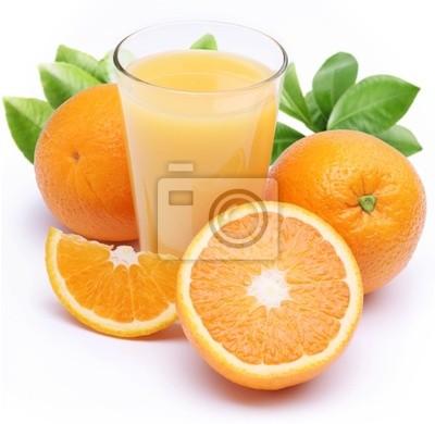 Jus d'orange et de fruits.