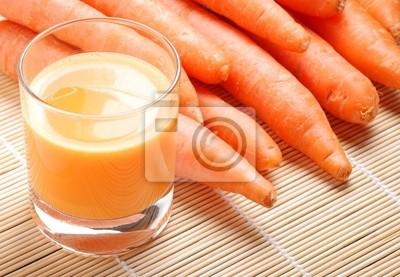 jus de carotte de trois