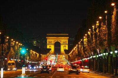 Papiers peints L'Arc de Triomphe de l'Etoile à Paris