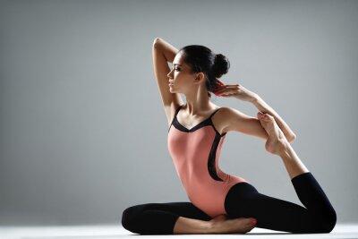 Papiers peints l'exercice de yoga