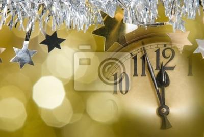 L'horloge de nouvel an