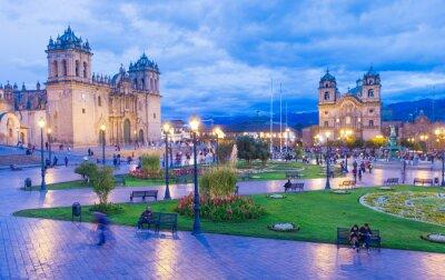 Papiers peints La cathédrale de Cusco, au Pérou