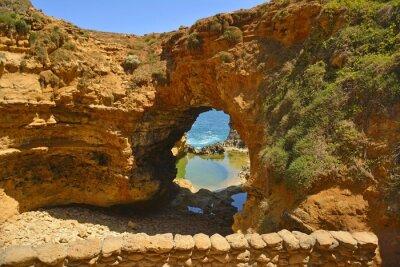 Papiers peints La Grotte le long de la Great Ocean Road.