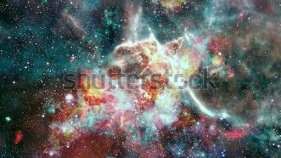 Papiers peints La supernova d'explosion. Nébuleuse étoile brillante. Galaxie lointaine. Feux d'artifice du nouvel an. Image abstraite. Éléments de cette image fournie par la NASA.