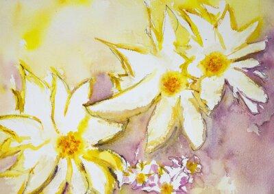 Papiers peints La technique dabbing près des bords donne un effet de foyer doux en raison de la rugosité de surface altérée du papier.