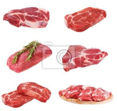 la viande crue