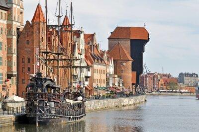 Papiers peints La vieille ville de Gdansk