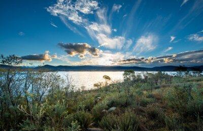 Papiers peints Lac Jindabyne en Nouvelle-Galles du Sud.