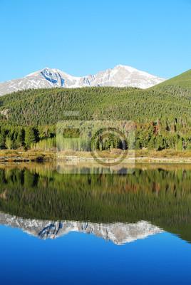 Papiers peints Lac Lily, Rocky Mountain National Park, CO, USA