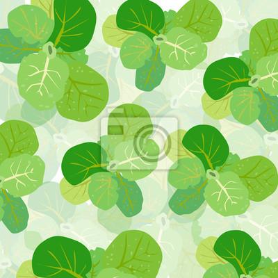 Laitue vert vecteur de fond