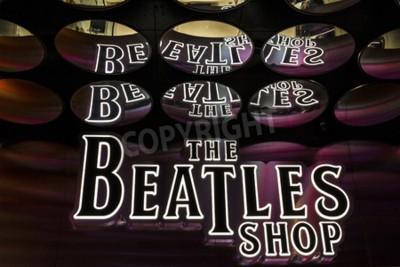 Papiers peints Las Vegas - Vers décembre 2016: The Beatles Shop at The Mirage. C'est le seul magasin de vente au détail de Beatles agréé I