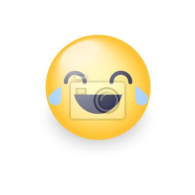 Papiers Peints Laughing Smiley With Tears Of Joy émoticône De Dessin Animé
