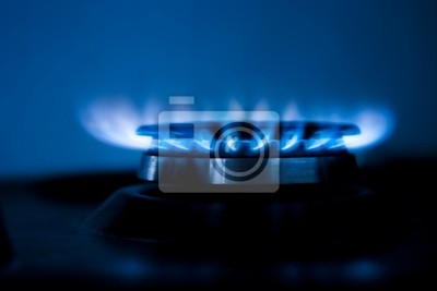Le feu de gaz