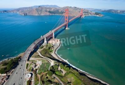 Papiers peints Le Golden Gate Bridge dans la baie de San Francisco
