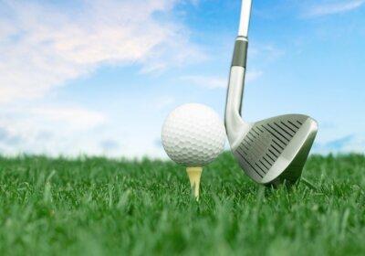 Papiers peints Le golf.