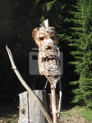 Le masque en bois
