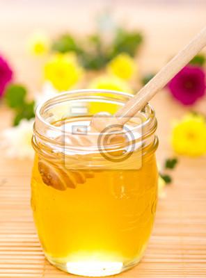 Le miel dans le pot