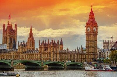 Papiers peints Le Palais de Westminster