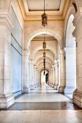 Papiers peints Le passage du célèbre palais cubaine, est aujourd'hui musée