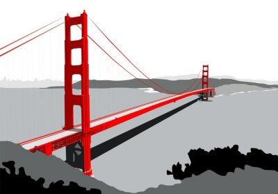 Papiers peints le pont du Golden Gate