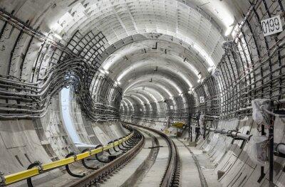 Papiers peints Le tunnel du métro