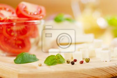Légumes et épices fraîches