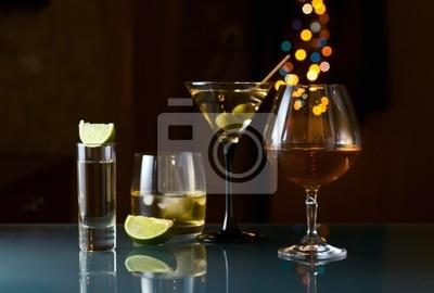 Les boissons alcoolisées.
