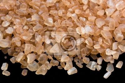 Papiers peints Les cristaux de sel de mer hawaïenne de alaea contenant de l'argile rouge