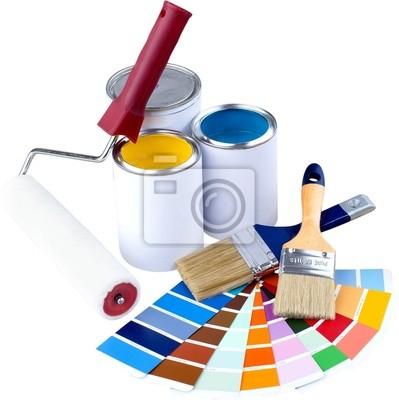 Les échantillons Couleur spectum et peinture