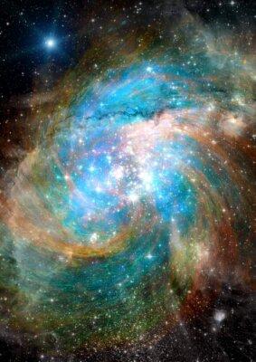 Papiers peints Les étoiles, la poussière et la nébuleuse de gaz